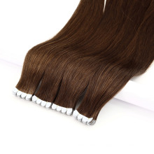 """Mini Tape in Human Remy Virgin Hair Adhesive Extensions 8""""-40"""" Double Drawn Tape Straight Skin Weft Natural Hair"""