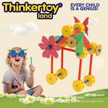 Flower Garden Design DIY Plastic Building Block Toys