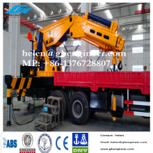 New hydraulic knuckle boom truck cranes for various type of truck