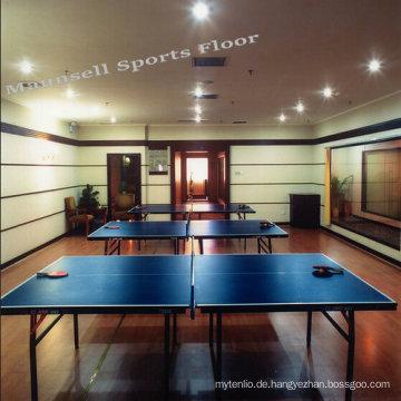 Professionelle Indoor Tischtennis Bodenbelag