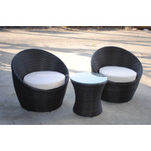 Balcón Rattan muebles precio exportador para el jardín