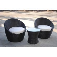 Prix de l'exportateur balcon rotin meubles pour jardin