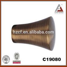 aluminum alloy curtain rod/oval curtain rod/wholesale tension rod new designs