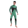 Seaskin mens 3/2 neoprene chest zip surfing wetsuit
