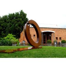 art déco sculpture riproduzioni en métal ou acier corten pour jardin