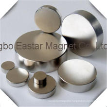 N45 Zinc Plating Neodymium Disc Magnet