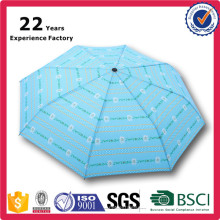 Eco Friendly Gifts Customized Dye Sublimation Printing Personalise Umbrella 3 Folding Automatic