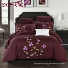 Luxury Comfortable Adult Queen Size Hotel bed sheets Linen Supplier 100% Cotton Super soft cotton flax bedding sets