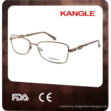 China Wholesale Optical Frame metal lady Eyewear 2017