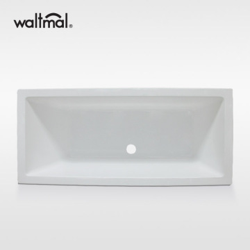 Tabor Double End Bath Tub dalam Putih