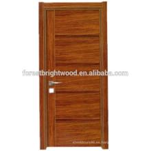Alta calidad usable melamina puerta de madera