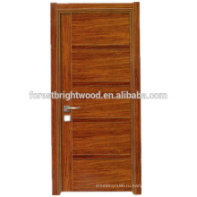 Высокое качество носимых меламин деревянная дверь