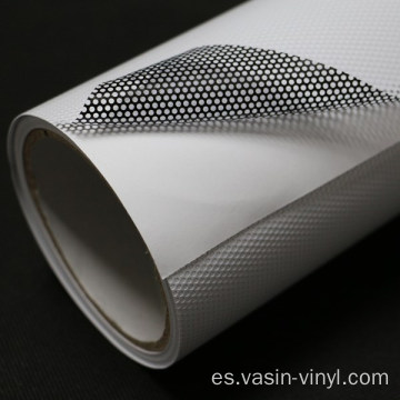 Película de vinilo Vision White Perforated One Way Vision