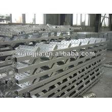 escalera de acero galvanizada / Estuche de escalera