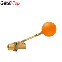 LB Guten masculino rosca latão 1 polegada pequena água através do nível de água do sexo masculino válvula de flutuador de latão