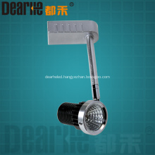 8w LED track light 640lm COB ceiling light angle adjustable spot light