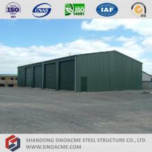 Landwirtschaftliche vorgefertigte Stahlstruktur-Lagerung