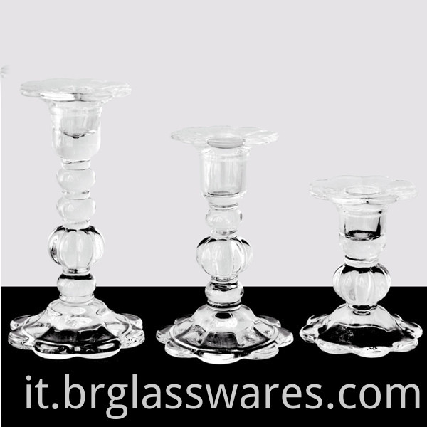 glass candle holder 2