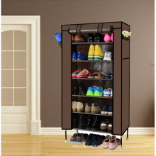 7 Cubes Shelf Shoe Storage Organizer Cabinet Rack Stand