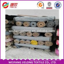 Tissu 100% coton denim respirant de première classe de qualité fabriqué en Chine