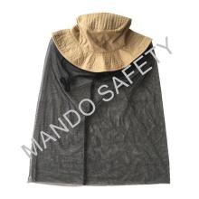 Chapéu de algodão com mosquiteiro para segurança