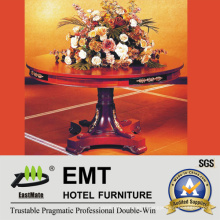 Star Hotel Luxurious Wooden Flower Stand Table (EMT-FD08)