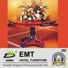 Star Hotel Mesa de madeira de luxo em flor (EMT-FD08)