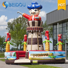 Popular Giant Toys Inflatable Ladder Jeux de sports Inflatable Climbing Wall