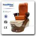 Oferta original de fábrica pedicure cadeira de madeira com braço e bandeja (C116-2201)
