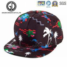 2016 OEM Grande Mode Coloré Sublimation Imprimer Danse Snapback Cap