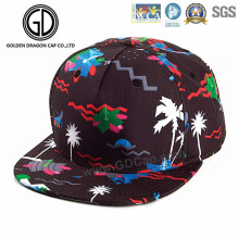 2016 OEM Great Fashion Colorful Sublimation Print Dancing Snapback Cap