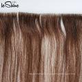 Proveedor superior en Qingdao tipo de cabello humano Real Crochet Hair Extension Tape Hair Extension
