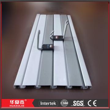 Strong PVC Slatwall Displays UPVC Slatwall Panels PVC Slat Wall Boards