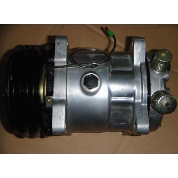 Compresor de aire AC DC de excavadora SD-508 12V Compresor de aire acondicionado barato con buena calidad