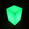 Led Light Up Meubles d'extérieur Led Cube Chair