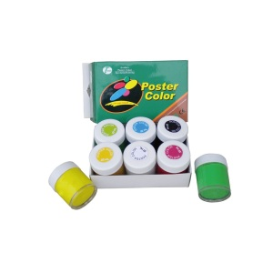 6 colori 22ml Poster Paint