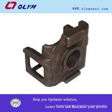 OEM iso 9001 certificado personalizado de fundición de acero al carbono de piezas de recambio marina de fundición