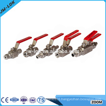 Attractive style 2pc pneumatic ball valve