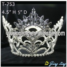 Wholesale Rhinestone Full Round Pageant Crowns