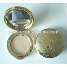 Compacto de cosméticos Yaqi caso maquillaje impermeable compacto polvo