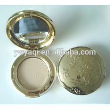 Pó compacto caso impermeável maquiagem pó Yaqi cosméticos compacto