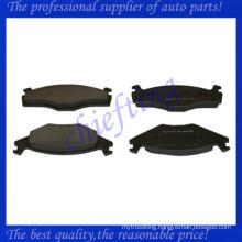 D569 191698151B 321698151H 191698151G 321698151D 321698151E car brake pad for golf brake pad