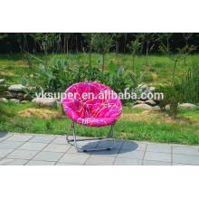 Cadeira de lua dobrável para adultos e crianças, interior e exterior