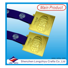 2015 Promotional Exquisite Metal Medals Shiny Athletic Medal