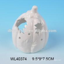 L'artisanat en porcelaine blanc de la série Pumpkin de Halloween pour LED