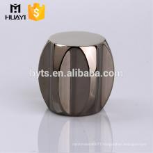 Wholesale zamac perfume cap for glass bottle or perfume bottle