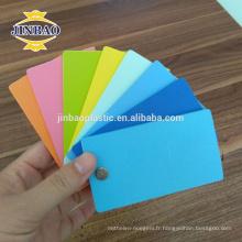 Feuilles de JINBAO 12mm de feuille de mousse de PVC de haute densité de panneau en plastique fournisseur