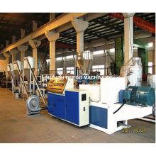 Máquina de peletizadora de madera y plástico de PVC