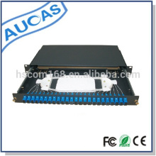 Ensemble de support à fibres optiques Aucas 24 ports 1U rack mount
