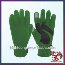 Durable Insulation Palm Silicon Polar Fleece Wholesale Cycling Gloves